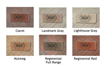 Paver Brick Options